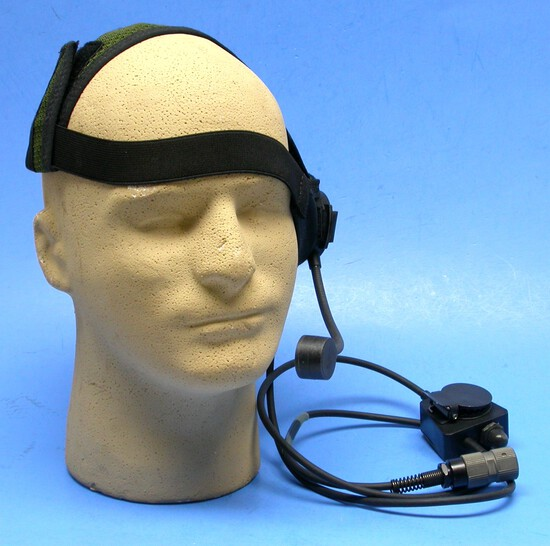 US Military Issue Special Forces Head Set with PTT (RS)