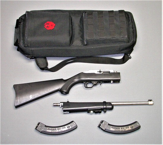 Ruger 10/22 22LR Take Down Rifle 50 Year Anniversary Edition FFL Required 829-85479 (BED1)