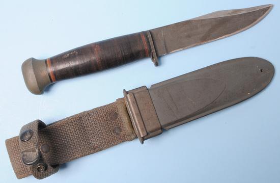 "US Navy WWII RH-35 ""PAL"" Mark 1 Fighting Knife (DHR)"