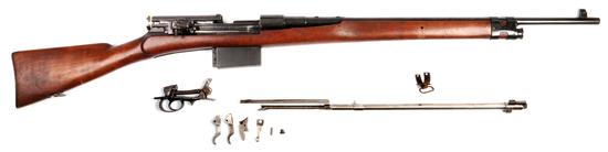 SUPER-Scarce Mexican Model 1908 Mondragon 7x57mm Semi-Automatic Rifle - FFL #474 (ENV 1)