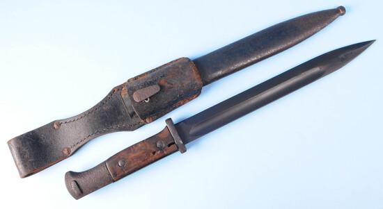 German Military WWI era 98A Mauser Rifle Bayonet (A)