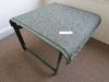 FABRIC FOOTSTOOL OR TABLE