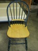 GREEN TRIM MAPLE CHAIR