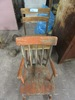 2 VINTAGE CHILD'S CHAIRS - ONE ROCKING CHAIR, ONE DESK CHAIR