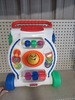 CHILD'S FISHER PRICE WALK BEHIND ACTIVITY CART