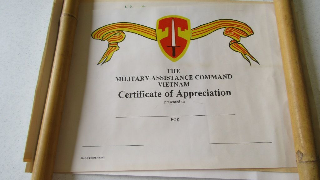 Lot Us Army Certificate Of Achievement Awards And War Posters