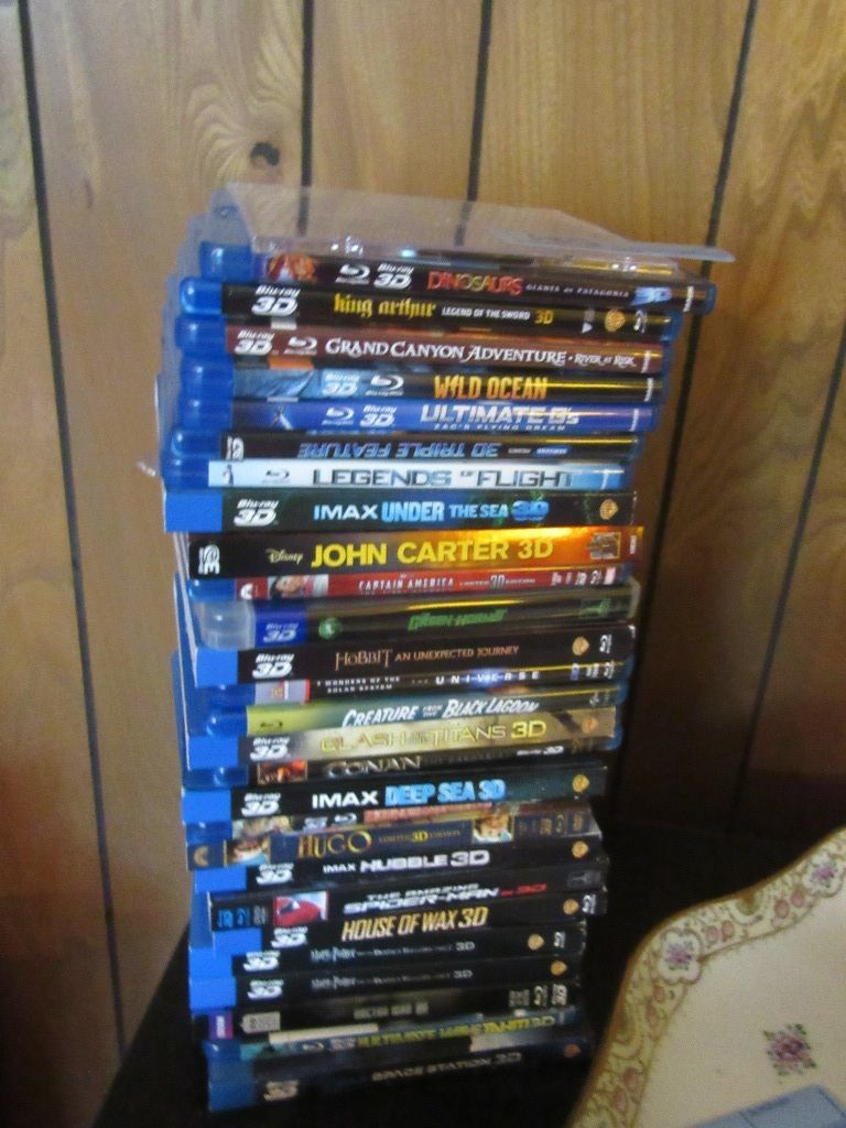 imax ultimate 3d collection blu-ray