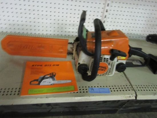 STIHL CHAINSAW MODEL 018C