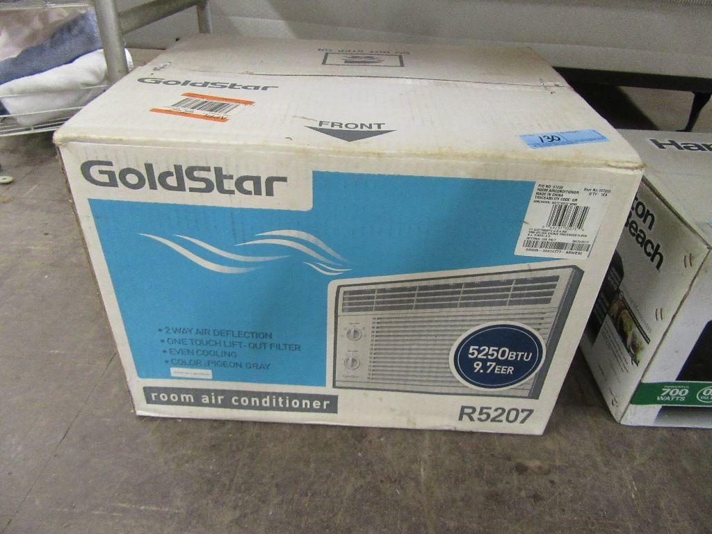 GOLD STAR ROOM AIR CONDITIONER 5250 BTU