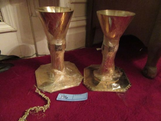 2 STERLING COMMUNION CUPS 950