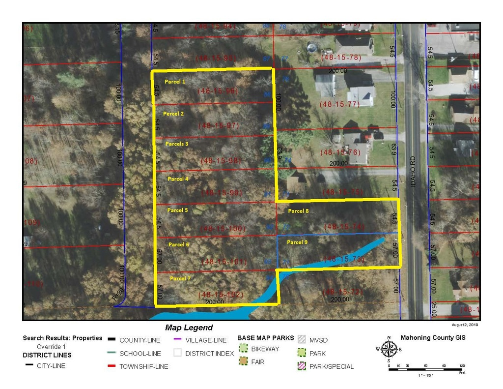 9 Lots totaling approx 2 acres Austintown, Ohio