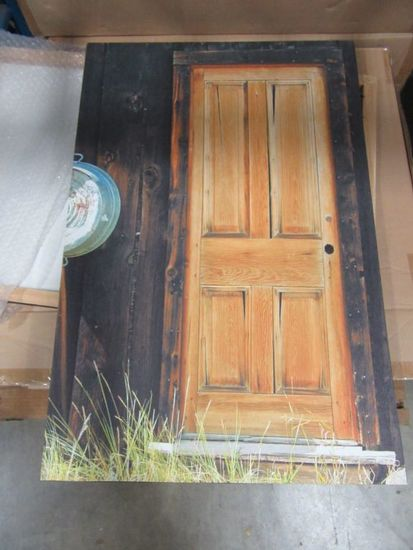 5 CASES OF THE OLD PANEL DOOR CANVAS. 10 PIECES PER CASE