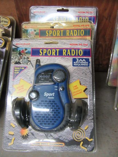 3 SPORTS RADIOS
