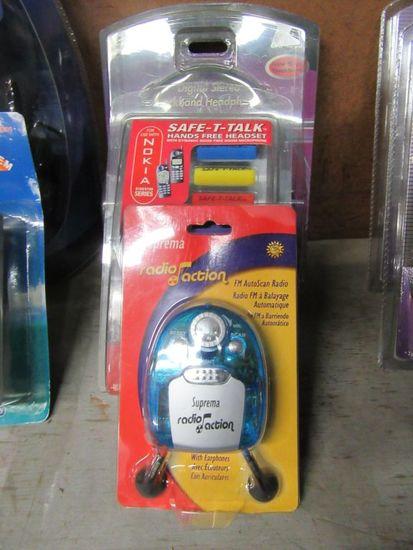 NOKIA HANDSFREE HEADSET POCKET RADIO AND STEREO NECK BAND HEADPHONES