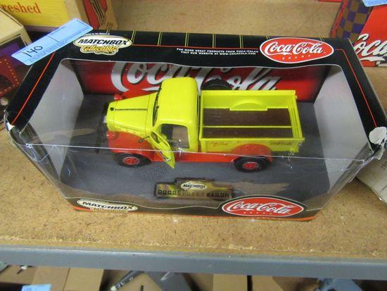 MATCH BOX COLLECTIBLES COCA-COLA DODGE POWER WAGON