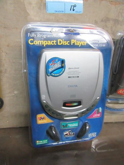2 COMPACT DISK PLAYERS BY LENNOX SOUND