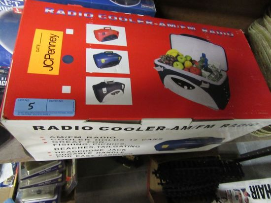 RADIO COOLER AM FM RADIO