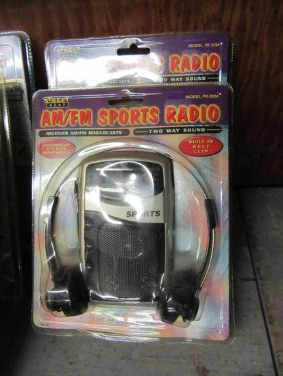 2 AMFM SPORTS RADIOS