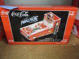 COCA-COLA COLLECTIBLE PINBALL MACHINE MUSICAL BANK