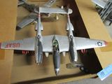 2 MILITARY MODEL PLANES