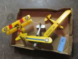 3 SMALL MODEL  PLANES