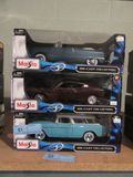 MAISTO DIE CAST COLLECTION 1969 FORD TORINO TALLADEGA, 1949 FORD, AND 1955