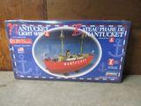 NANTUCKET LIGHT SHIP MODEL. NEVER BEEN OPEN