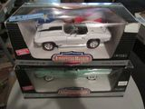 ERTL AMERICAN MUSCLE 1967 CORVETTE L-88 AND 1957 CHEVY BEL-AIR
