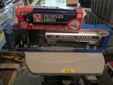 PEOPLE'S DRUG TRACTOR TRAILER TRUCK BANK AND SPRINGWATER TRANSPORTER TRUCK