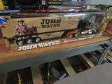 NEW RAY KENWORTH W 900 JOHN WAYNE TRACTOR TRAILER