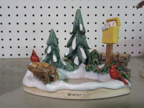 GOEBEL FIGURINE  WINTER MAGIC 1114-D