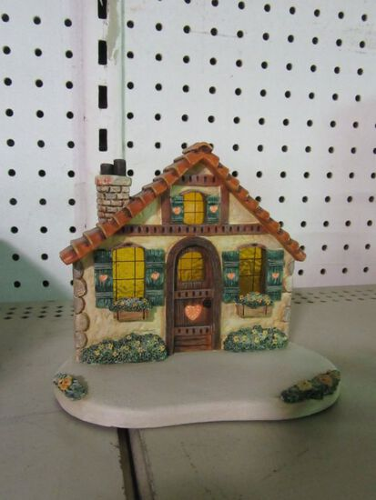 GOEBEL FIGURINE HOME SWEET HOME DISPLAY 1119-D