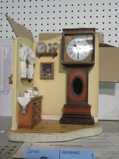 GOEBEL GRANDFATHER CLOCK DISPLAY 1127-D