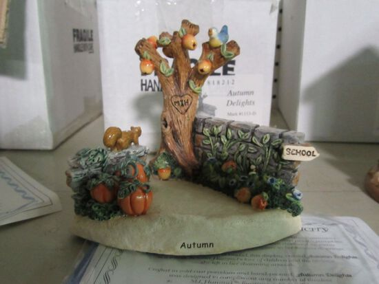 GOEBEL FIGURINE AUTUMN DELIGHTS  1113-D