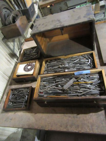 MACHINISTS BOX AND CONTENTS