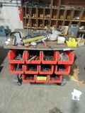 TOOL CART AND CONTENTS