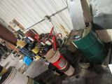 LOT OF PUMPS, OILS, AND ETC