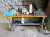 WORK BENCH AND MISCELLANEOUS