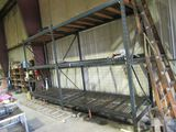 3 SECTIONS OF PALLET RACK