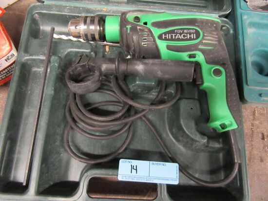 HITACHI HAMMER DRILL. MODEL SD V16 VB2