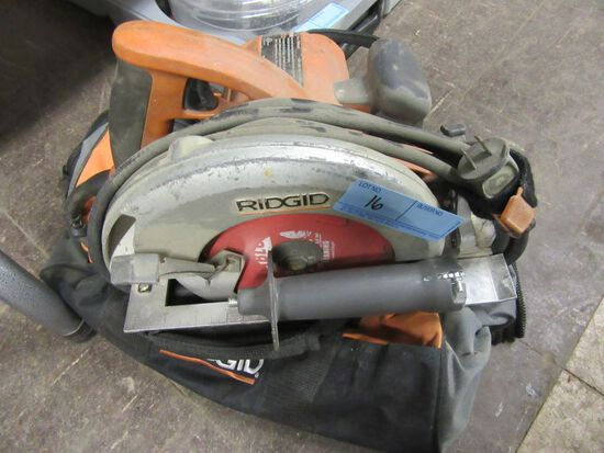 RIDGID CIRCULAR SAW 7-1/4 INCH MODEL R3200 WITH BAG
