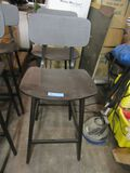 (2) BISTRO STYLE CHAIRS. MADE IN ITALY