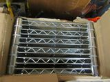 ADJUSTABLE WIRE SHELVES. MODEL NUMBER WST966C WITHOUT LEGS