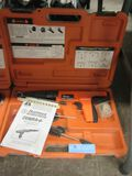 RAMSET COBRA PLUS FASTENING SYSTEM WITH CASE AND MANUAL