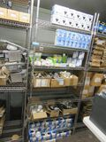 STAINLESS STEEL ADJUSTABLE WIRE SHELVING UNIT