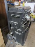 STANLEY FAT MAX ROLLING EXPANDABLE TOOLBOX WITH CONTENTS