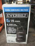 EVERBILT  1/6HP UTILITY PUMP WITH BOX