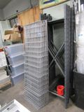 COMMERCIAL STYLE PALLET RACKING INCLUDING (10) 7 FT UPRIGHTS, 46-FOOT CROSS