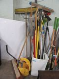 BROOMS AND CLEANING ITEMS