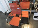(3) OUTDOOR CHAIRS